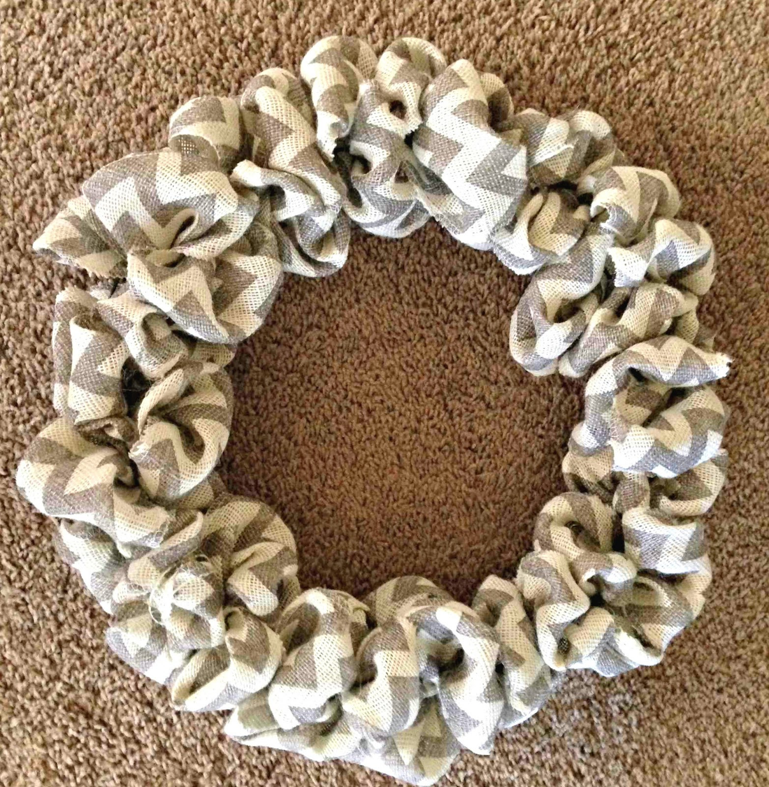 Best ideas about Burlap Wreath DIY . Save or Pin all things katie marie DIY Burlap Wreath Now.