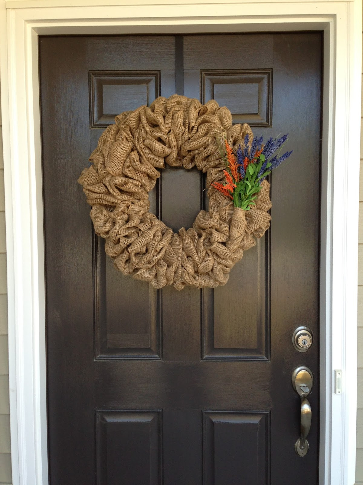Best ideas about Burlap Wreath DIY . Save or Pin Little Lovely Leaders Burlap Wreath Now.