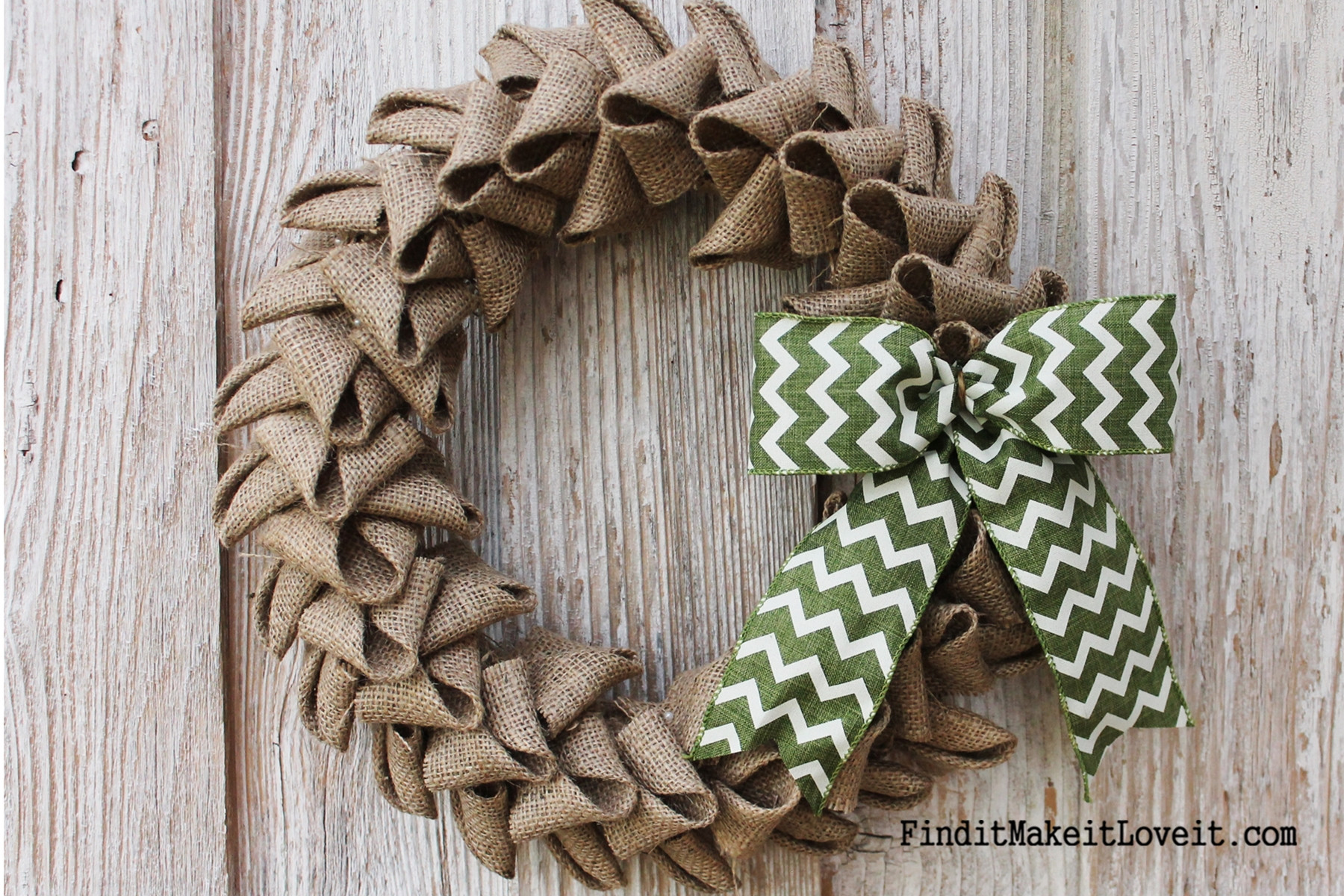 Best ideas about Burlap Wreath DIY . Save or Pin Petal Burlap Wreath How to Cheat the Perfect Bow Find Now.