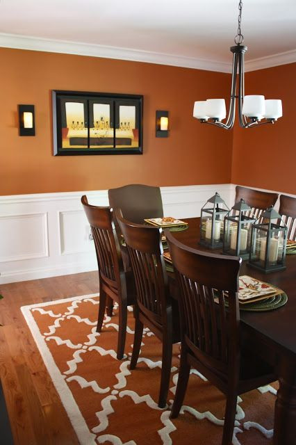 Best ideas about Burnt Orange Kitchen Decor . Save or Pin Burnt orange dining room Now.