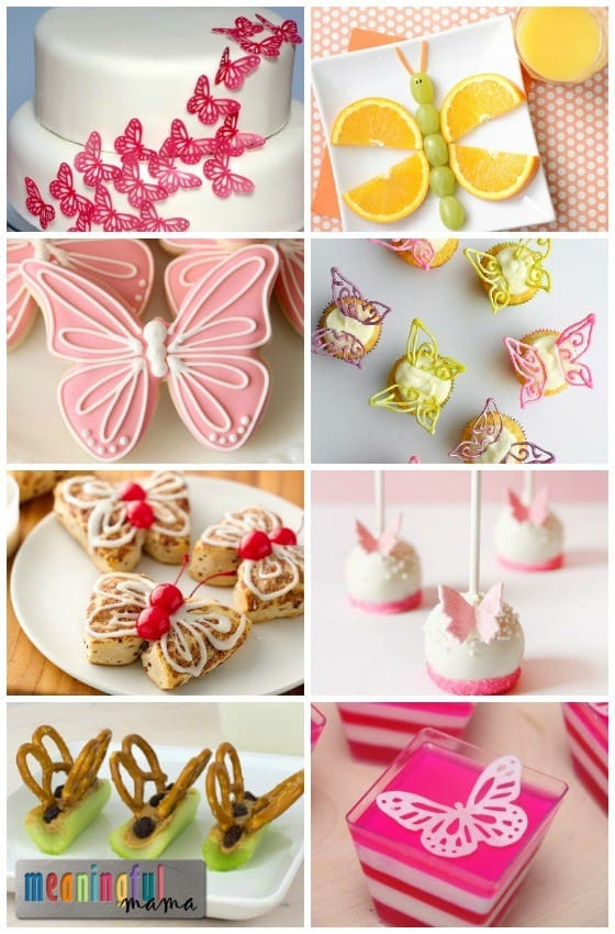 Best ideas about Butterfly Birthday Decor . Save or Pin Butterfly Food Ideas Now.