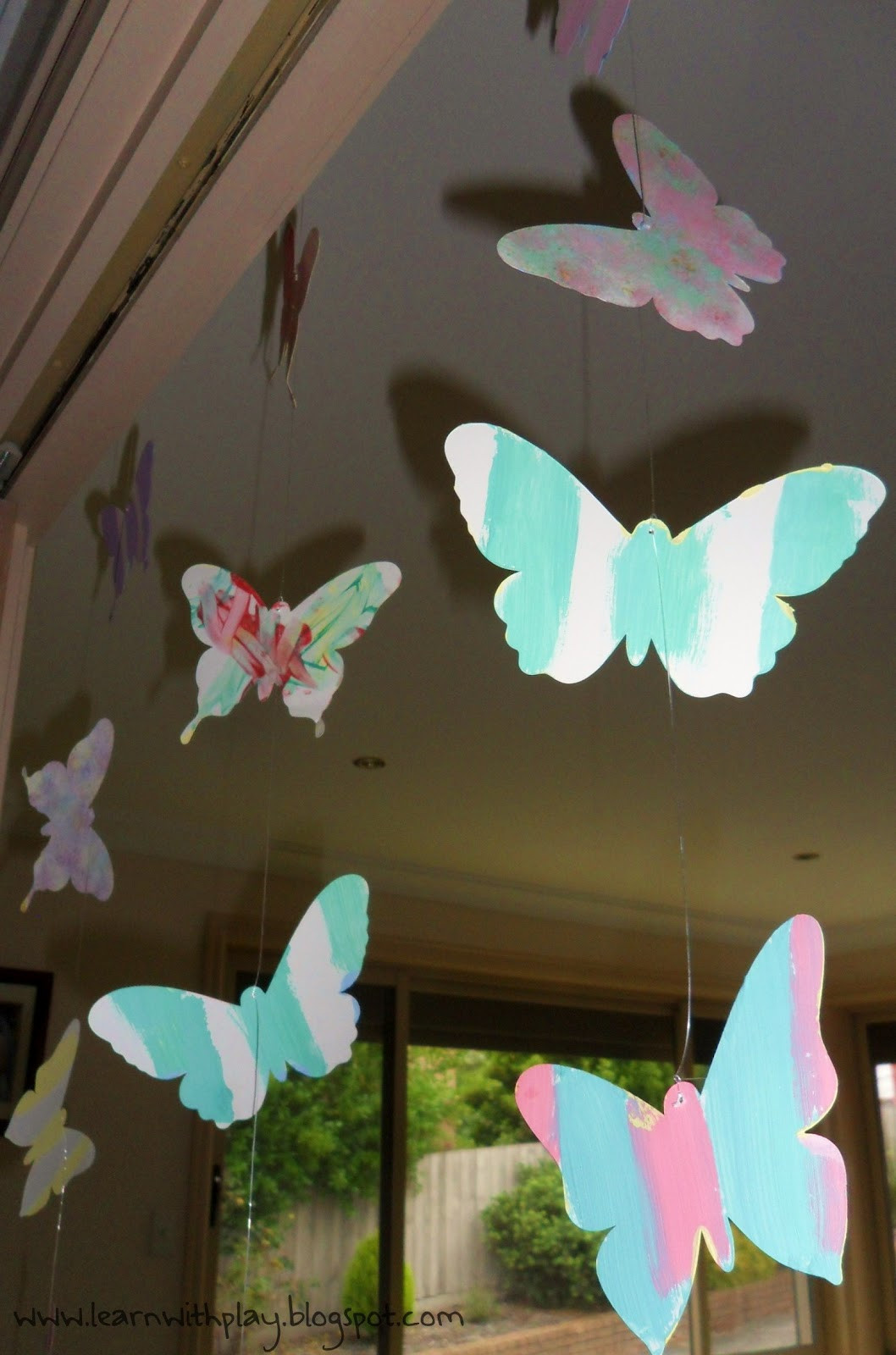 Best ideas about Butterfly Birthday Decor . Save or Pin Learn with Play at Home Butterfly Birthday Party Ideas Now.