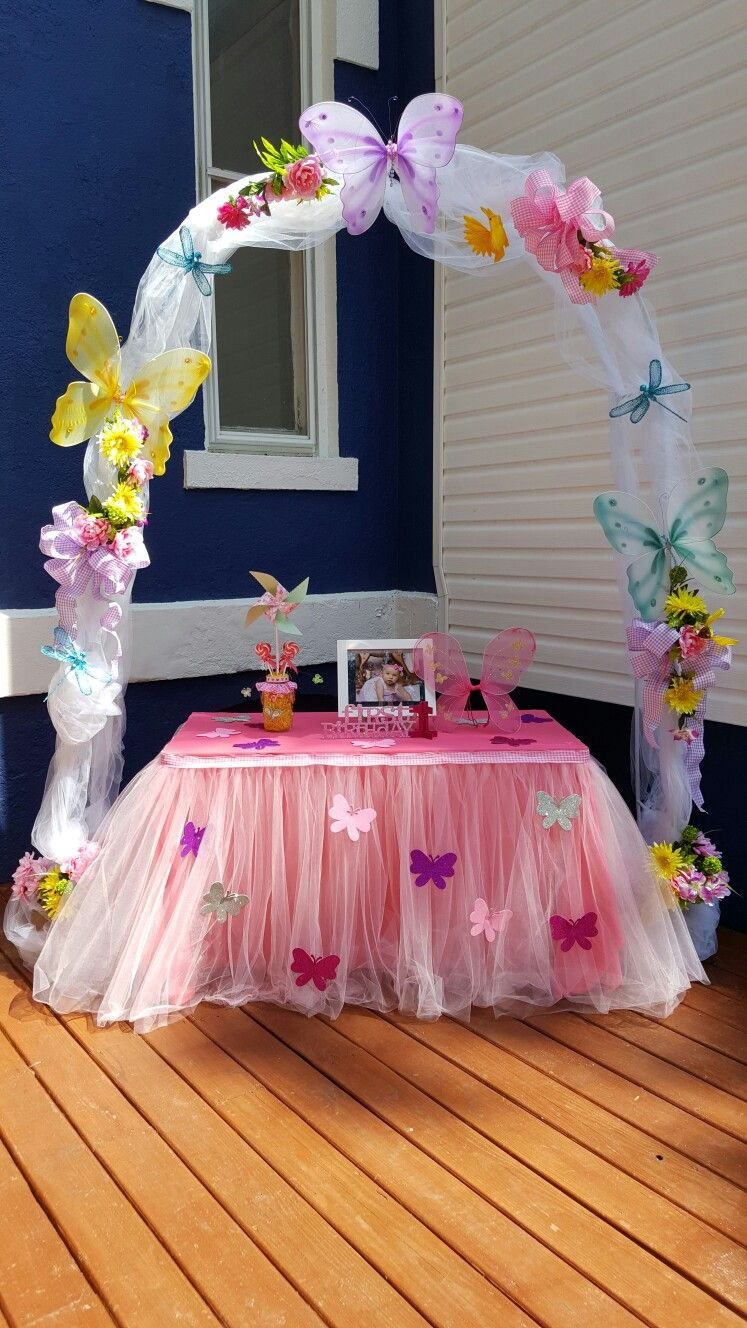 Best ideas about Butterfly Birthday Decor . Save or Pin Butterfly birthday party Now.