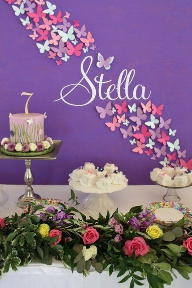 Best ideas about Butterfly Birthday Decor . Save or Pin Best 25 Backdrop butterfly ideas on Pinterest Now.