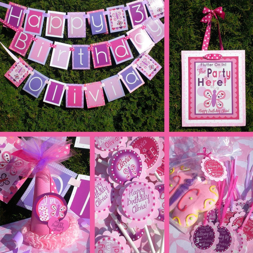 Best ideas about Butterfly Birthday Decor . Save or Pin Butterfly Birthday Party Decorations Fully Assembled by Now.