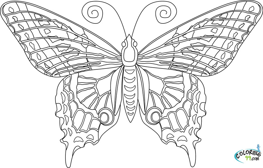 Best ideas about Butterfly Printable Coloring Pages For Adults . Save or Pin Ausmalbilder für Kinder Malvorlagen und malbuch • Adult Now.