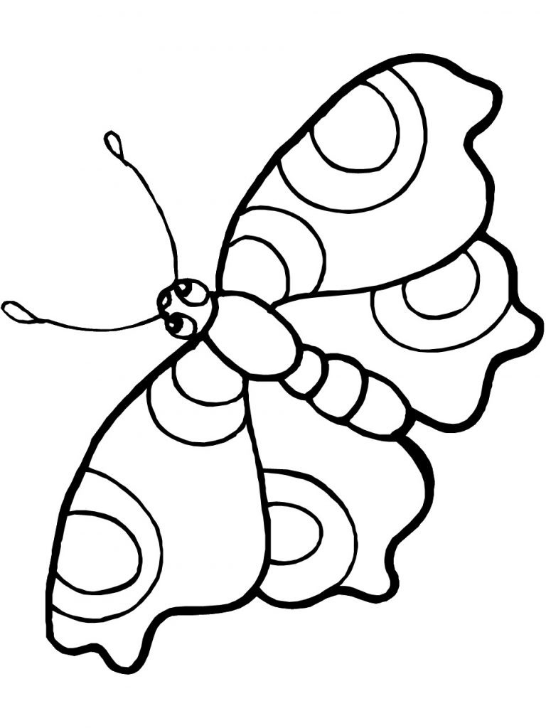 Best ideas about Butterfly Printable Coloring Pages . Save or Pin Free Printable Butterfly Coloring Pages For Kids Now.
