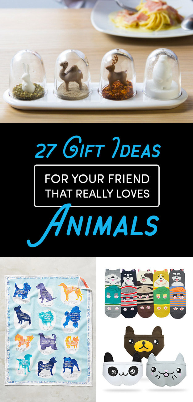 Best ideas about Buzzfeed Gift Ideas . Save or Pin 27 Gift Ideas For Your Friend Who Really Really Loves Animals Now.