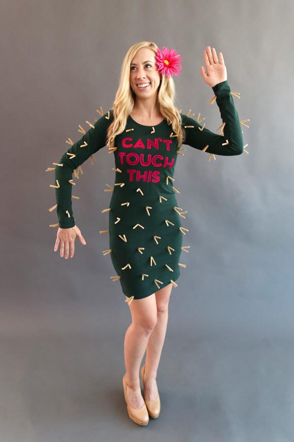Best ideas about Cactus Costume DIY . Save or Pin 20 DIY Halloween Costumes landeelu Now.