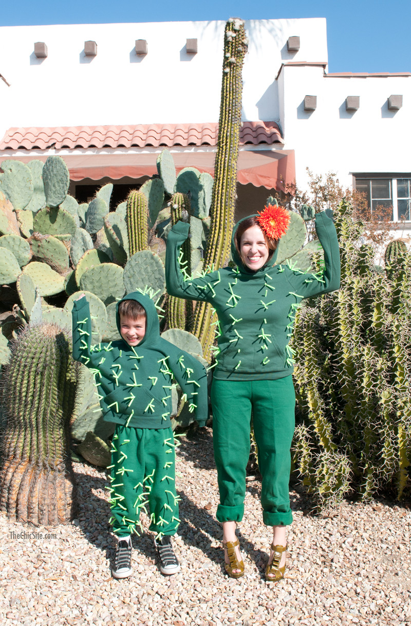 Best ideas about Cactus Costume DIY . Save or Pin DIY Cactus Costume The Chic Site Now.