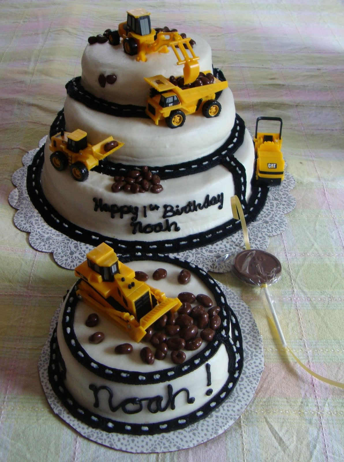 Best ideas about Cake Birthday . Save or Pin Birthday Cake Construction Birthday Cakes Now.