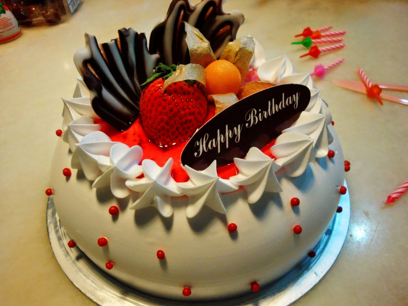 Best ideas about Cake Happy Birthday . Save or Pin HD BIRTHDAY WALLPAPER Birthday cakes Now.