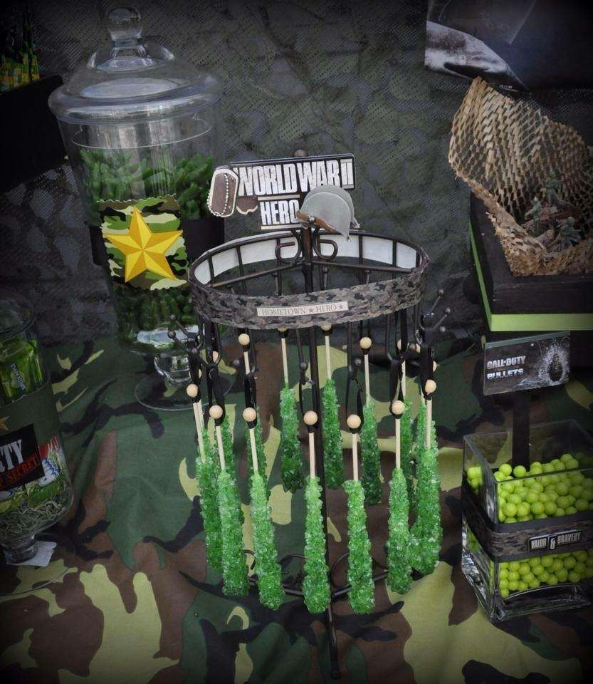 Best ideas about Call Of Duty Birthday Party . Save or Pin Call of Duty Military Birthday Party Ideas Now.