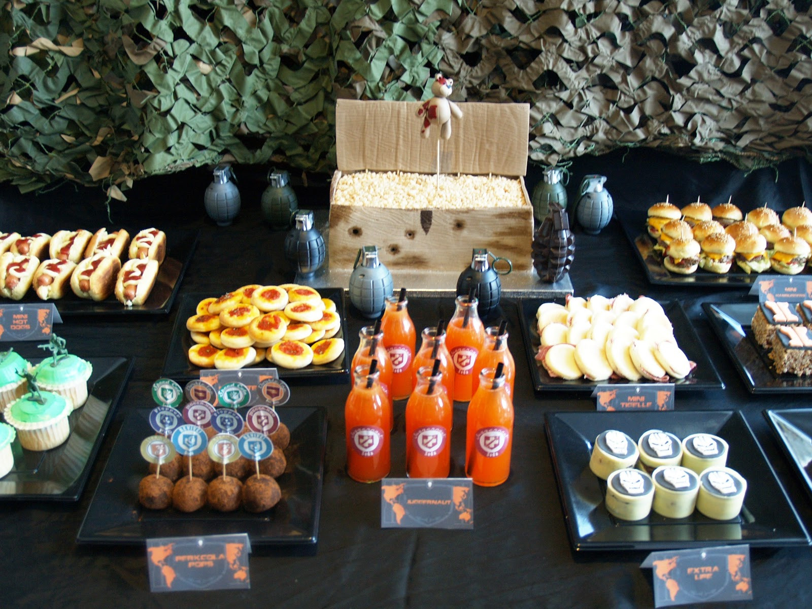Best ideas about Call Of Duty Birthday Party . Save or Pin Sugarbliss Call of Duty Black Ops Birthday party Now.
