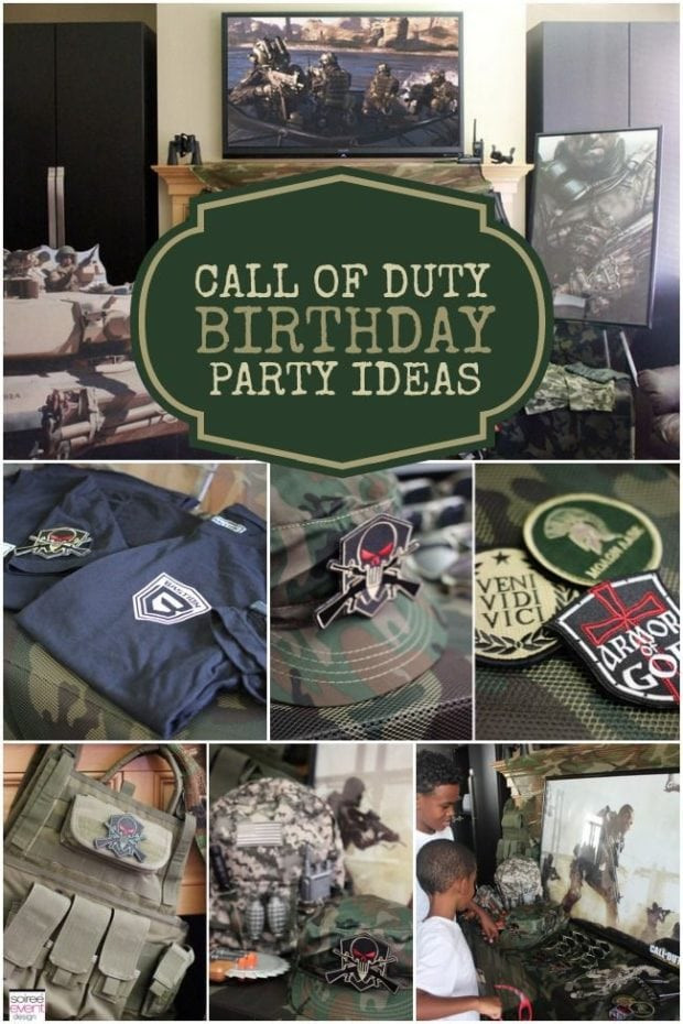 Best ideas about Call Of Duty Birthday Party . Save or Pin A Call of Duty Inspired Video Game Party Now.