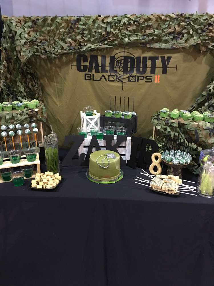 Best ideas about Call Of Duty Birthday Party . Save or Pin Call of duty Birthday Party Ideas 1 of 6 Now.