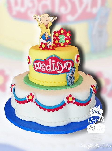 Best ideas about Calliou Birthday Cake . Save or Pin Caillou 2nd Birthday Now.