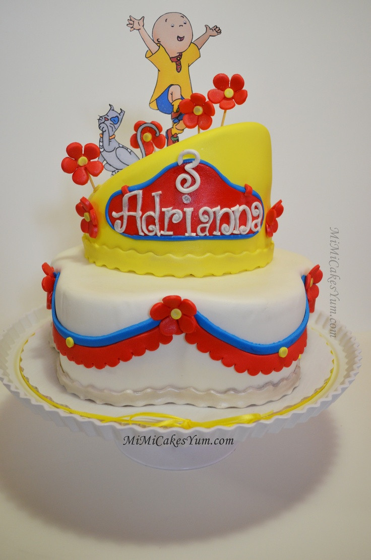 Best ideas about Calliou Birthday Cake . Save or Pin Caillou cake Cake Now.