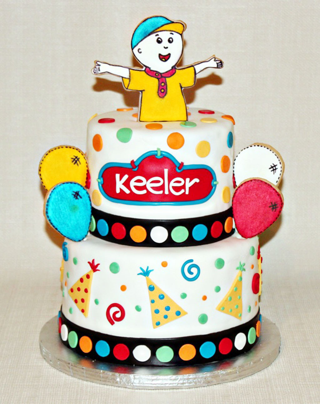 Best ideas about Calliou Birthday Cake . Save or Pin Caillou Birthday Cake Birthday Cake Cake Ideas Now.