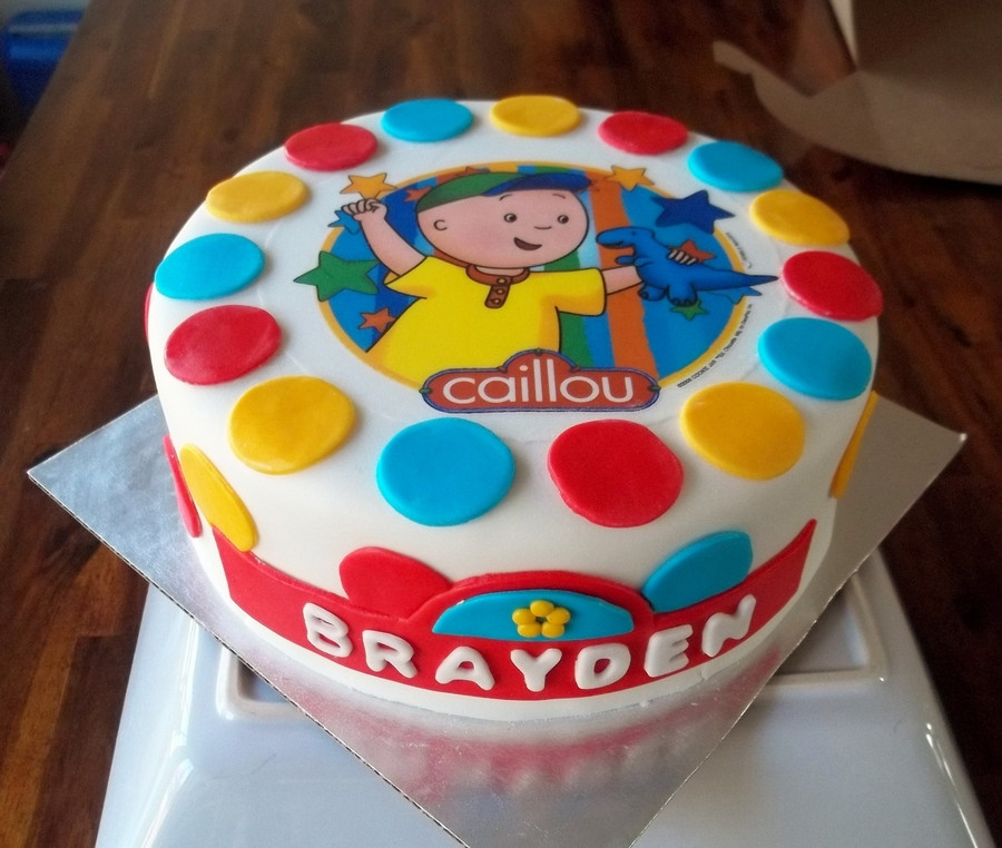 Best ideas about Calliou Birthday Cake . Save or Pin Caillou Birthday Cake CakeCentral Now.
