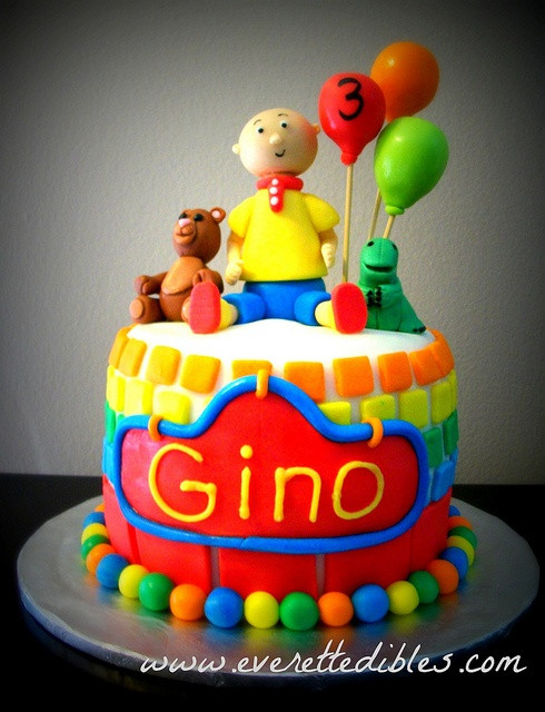 Best ideas about Calliou Birthday Cake . Save or Pin 1000 images about Caillou birthday party on Pinterest Now.