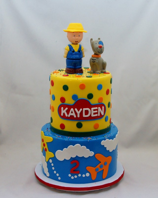 Best ideas about Calliou Birthday Cake . Save or Pin Gallery Custom Cake Toppers Cake in Cup NY Now.