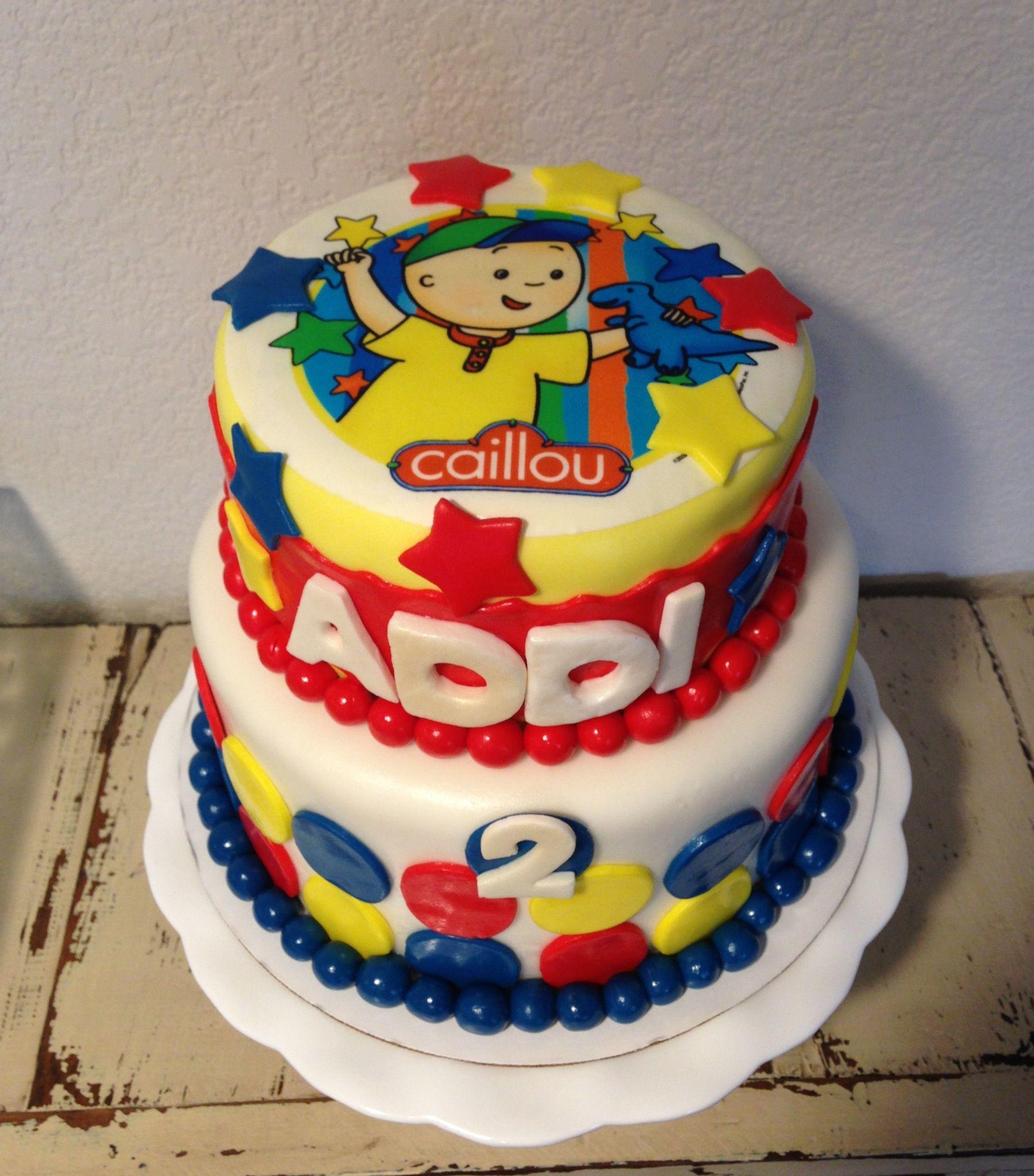 Best ideas about Calliou Birthday Cake . Save or Pin Caillou Birthday Cake KJ Takes The Cake Now.