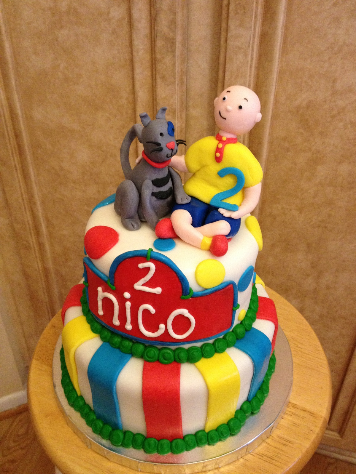Best ideas about Calliou Birthday Cake . Save or Pin 1000 images about Gateau pour enfants on Pinterest Now.
