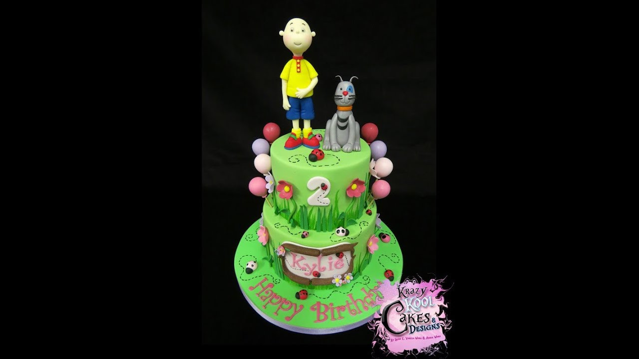 Best ideas about Calliou Birthday Cake . Save or Pin Caillou Birthday Cake Now.