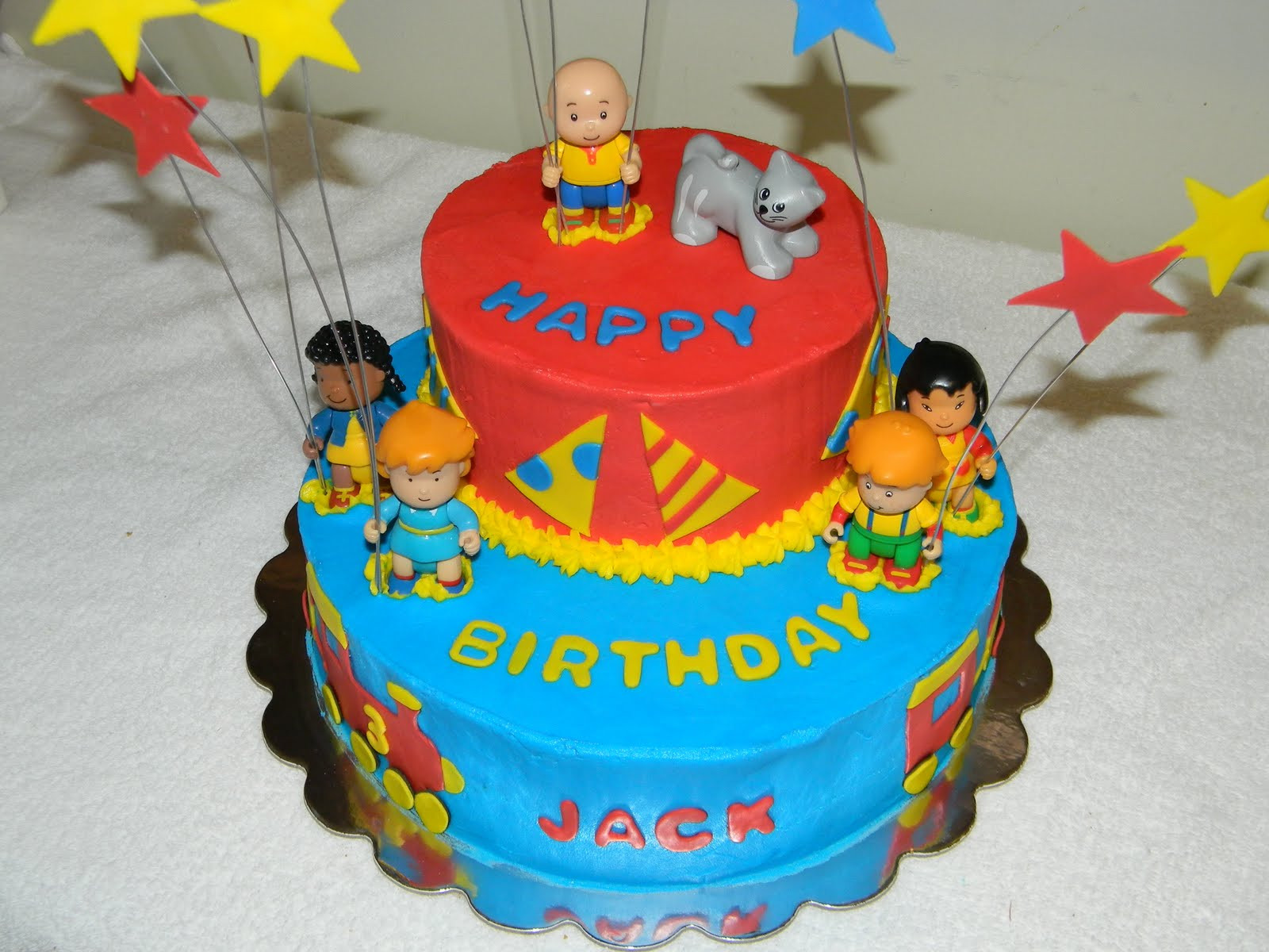 Best ideas about Calliou Birthday Cake . Save or Pin Custom Cakes by Christy Caillou Cake Now.
