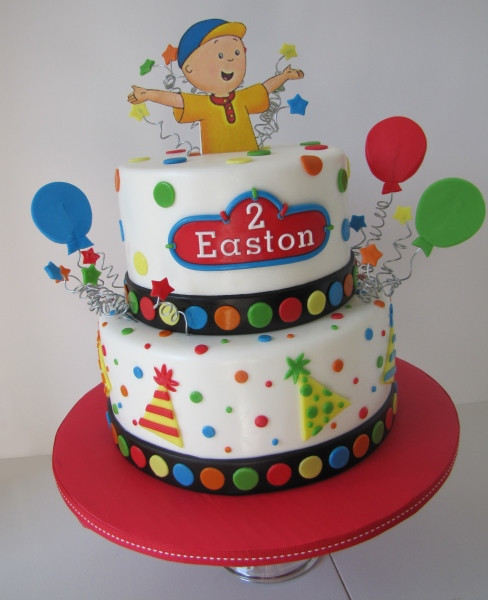 Best ideas about Calliou Birthday Cake . Save or Pin Caillou Birthday Cake Cake Decorating munity Cakes Now.