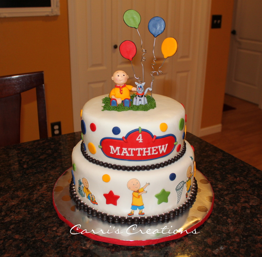Best ideas about Calliou Birthday Cake . Save or Pin Caillou Birthday CakeCentral Now.