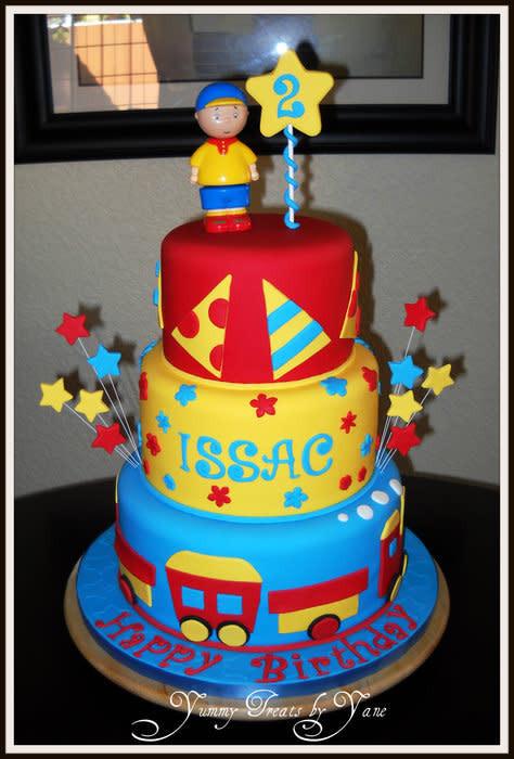 Best ideas about Calliou Birthday Cake . Save or Pin Caillou Cake cake by YummyTreatsbyYane CakesDecor Now.