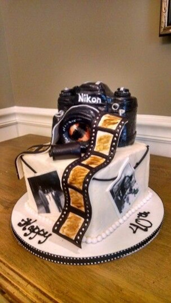 Best ideas about Camera Birthday Cake . Save or Pin Camera Cake Inspiration Cake It To The Max Now.