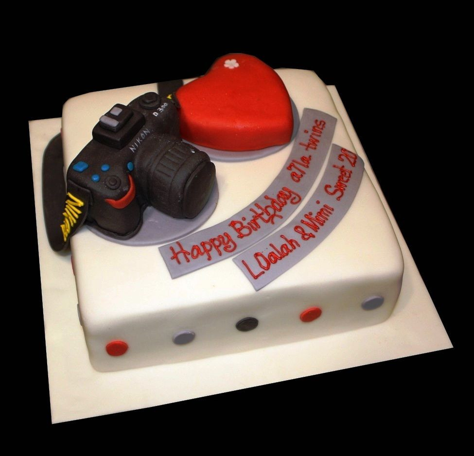 Best ideas about Camera Birthday Cake . Save or Pin Nikon Camera Cake Gad s Mobile puter Now.