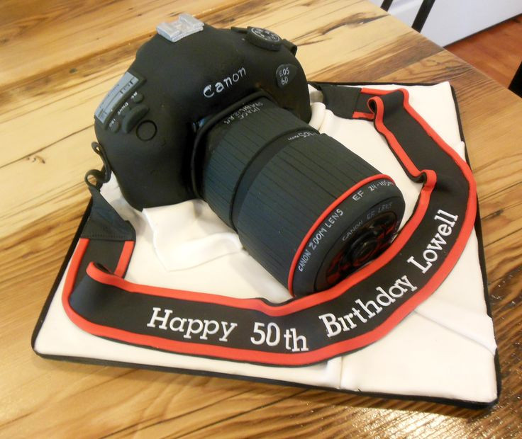 Best ideas about Camera Birthday Cake . Save or Pin Canon Camera cake for a 50th birthday Now.