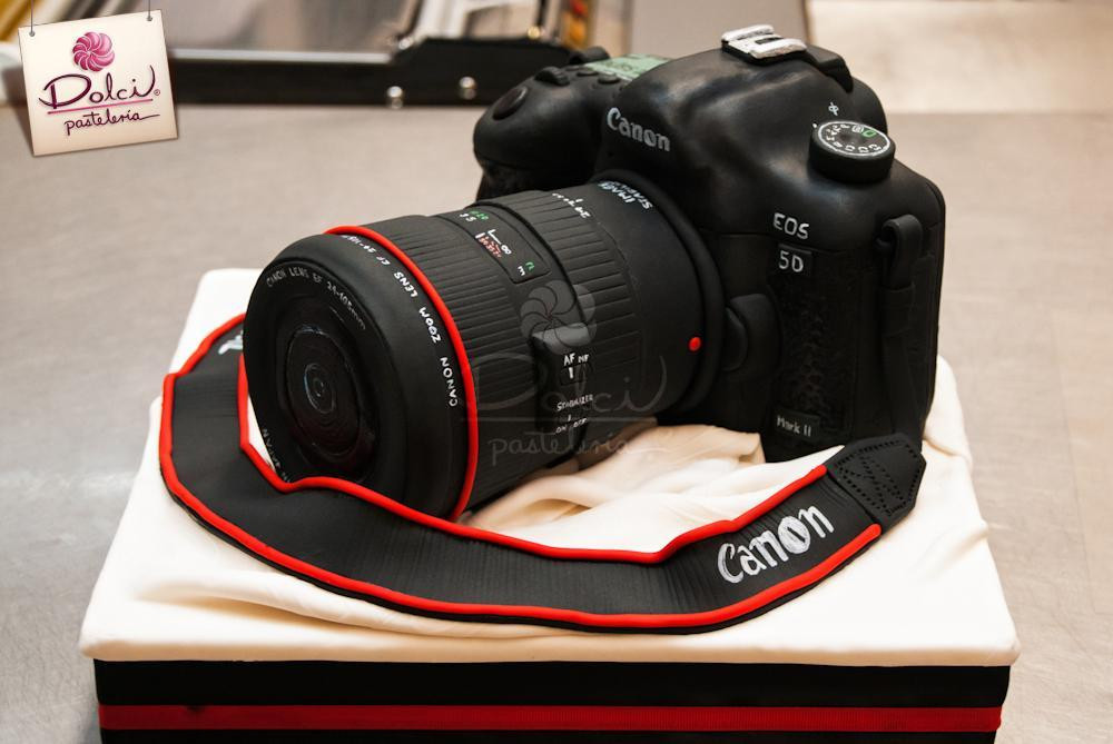 Best ideas about Camera Birthday Cake . Save or Pin You have to see Canon Camera Cake by Kalid M Torres Now.