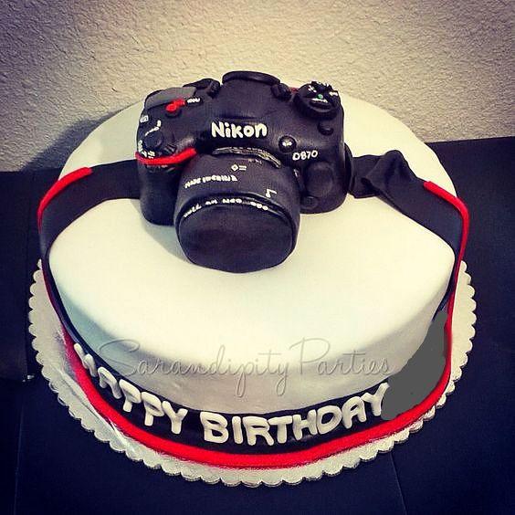 Best ideas about Camera Birthday Cake . Save or Pin Nikon Camera Birthday Cake Now.