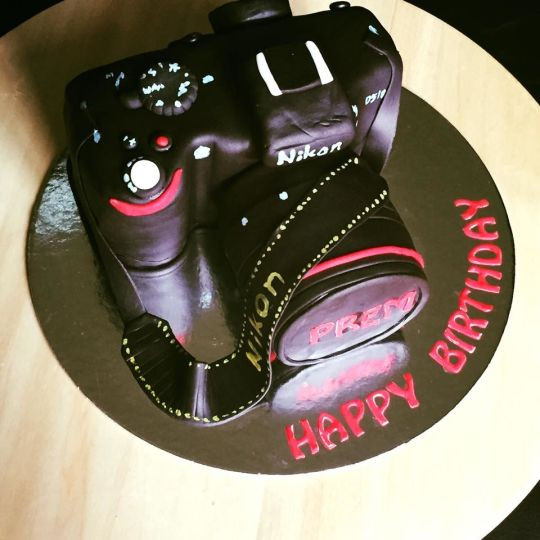 Best ideas about Camera Birthday Cake . Save or Pin Camera Birthday Cake Cake by Manjoooz CakesDecor Now.