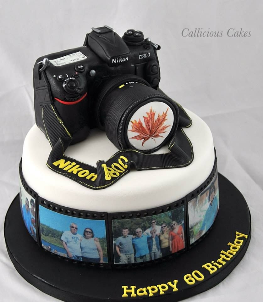 Best ideas about Camera Birthday Cake . Save or Pin Camera cake Cake for men Now.