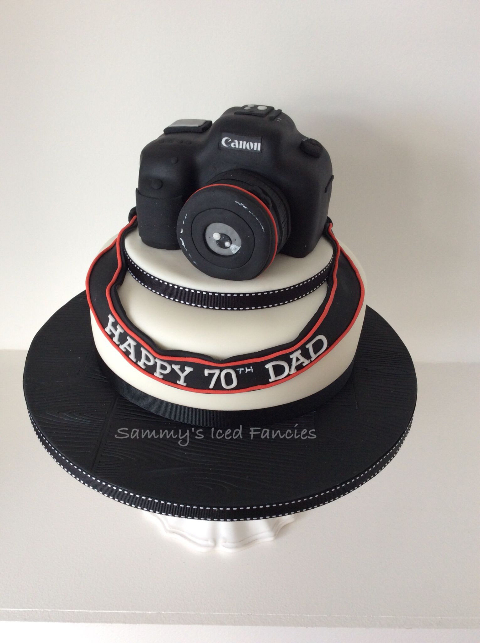 Best ideas about Camera Birthday Cake . Save or Pin Camera 70th birthday cake My cakes in 2019 Now.