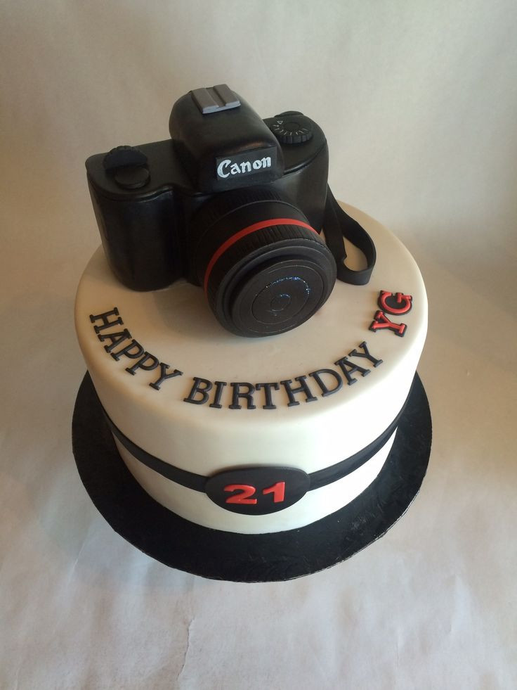 Best ideas about Camera Birthday Cake . Save or Pin 25 best ideas about Camera Cakes on Pinterest Now.