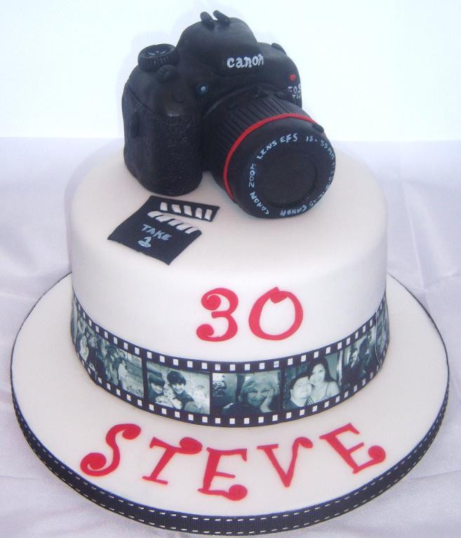 Best ideas about Camera Birthday Cake . Save or Pin You have to see My Brother in laws Birthday Camera Cake by Now.