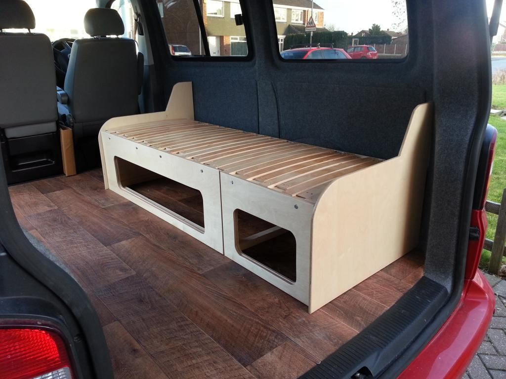 Best ideas about Campervan Beds DIY . Save or Pin alternative layout DIY build VW T4 Forum VW T5 Forum Now.