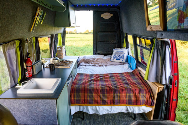 Best ideas about Campervan Beds DIY . Save or Pin Van tour Phil's DIY camper – but wait till you see the Now.