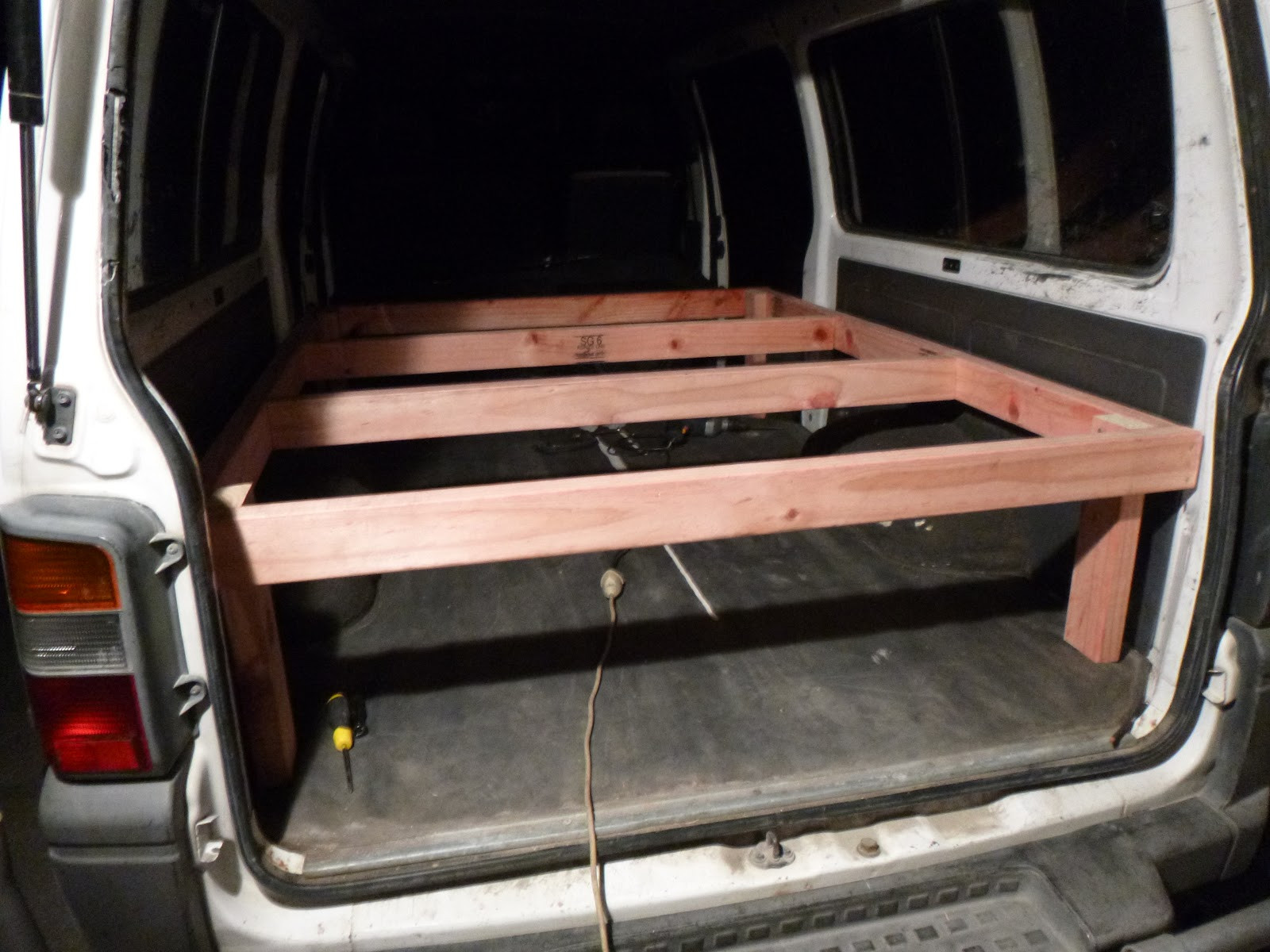 Best ideas about Campervan Beds DIY . Save or Pin Shrieking Peanut DIY Campervan bed setup Now.