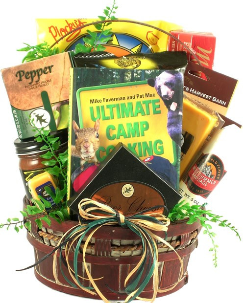 Best ideas about Camping Gift Basket Ideas . Save or Pin Happy Camper Camping Gift Basket Now.