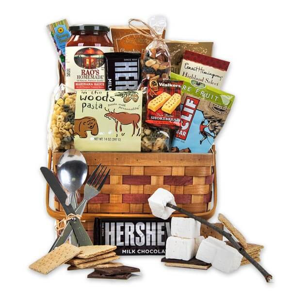 Best ideas about Camping Gift Basket Ideas . Save or Pin Let s Go Camping Gourmet Gift Baskets For All Occasions Now.