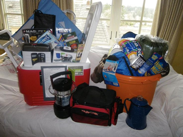 Best ideas about Camping Gift Basket Ideas . Save or Pin 29 best Camping t basket images on Pinterest Now.