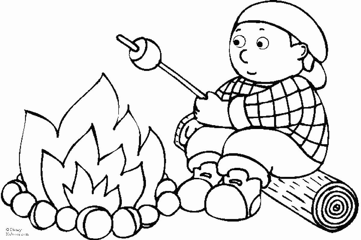 Best ideas about Camping Printable Coloring Pages . Save or Pin Camping Coloring Pages Now.